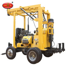 Portable Tractor Mounted Air Borehole Drilling Machine