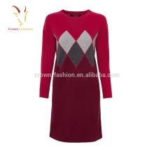 2017 Winter Neue Ankunft Frauen Kaschmir Kleid aus China importiert
