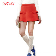 Summer A-Line Ruffles Short Skirt Women Skirt