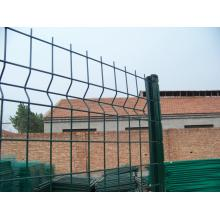 professional factory provide for Triangle Bending Fence Easily Assembled PVC Coated Welded  Fence Panel supply to Saudi Arabia Importers