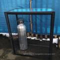 voll geschweißter Gasflaschenzylinder Flaschenspeicher verzinkter Stahlgitterkorb