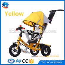 China supplier wholesale metal baby tricycle for kids, stroller baby pram tricycle, kids trike, children tricycle rubber wheel