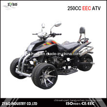 250cc EEC Trike ATV Quad Hot Sale in Germany 14inch Alloy Wheel Water Cooled Engine