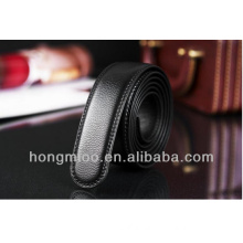 Promotional high quality wholesale leather belt blanks without buckle