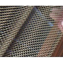 Farbige PVC beschichtete Kettenglied-Maschendraht- / Diamant-Loch-Kettenglied-Sport-Fechten