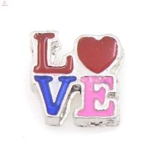 Top charmes d'amour de vente pour les couples, charmes de souvenirs en gros