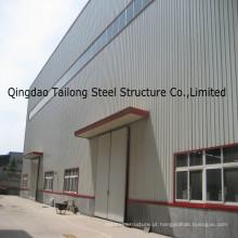Estrutura de aço pré-fabricada e oficina de armação de aço para armazém de construção