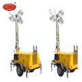 Towable Vehicle Mounted Portable Light Towers