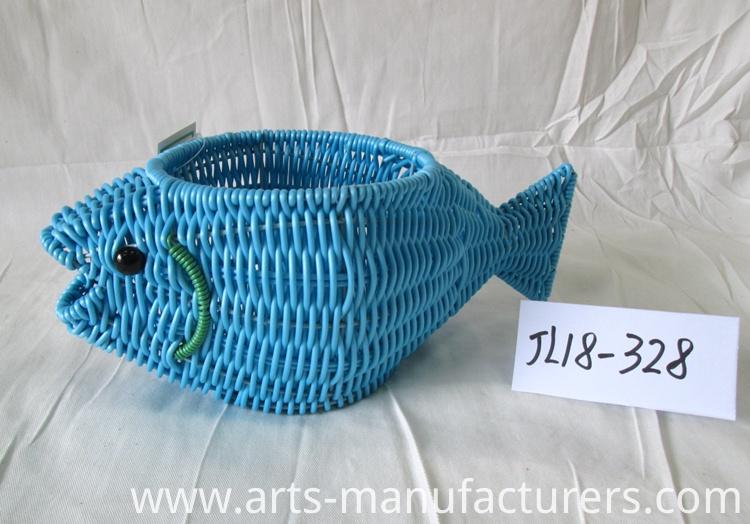fish shape basket