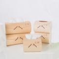 Caja de pañuelos de madera artesanía de diferentes tamaños marca FQ