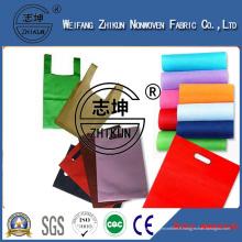 Non-tissé coloré pour sac à provisions