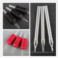 Hot Sale Disposable Silica Coated Tattoo Grip with Clear Tips