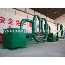 Popular overseas-- double stove sawdust dryer