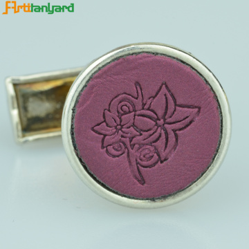 Unique Men's Cufflinks With Plating Color
