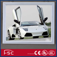 Led slim photo frame designs light box