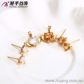 62587-Xuping Artificial Wedding Jewelry Woman Jewelry Set with 18K Gold Plated