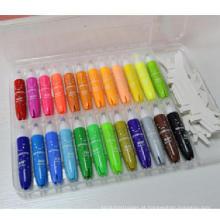 caneta aquarela marcador de cor clara