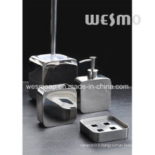Square Shape Stainless Steel Bathroom Accessories Set (WBS0813A)