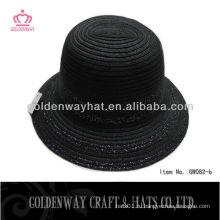 Бумажная оплетка леди дерби шляпа