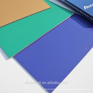 Alunewall PE / PVDF revestiu a venda direta do facorty do painel composto de alumínio da impressão