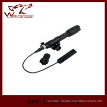 Tactical Flashlight Military Torch with Mount
