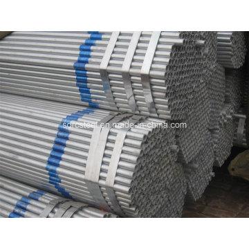 Q195-Q235 Предварительно оцинкованная стальная труба для теплицы