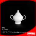 used hotel restaurant china dinnerware stoneware ceramic sugar pot