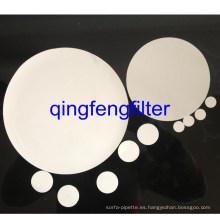 Membrana de filtro de laboratorio de PTFE hidrofóbico