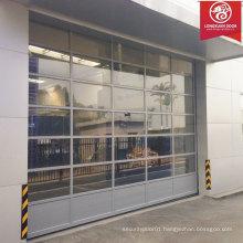 Custom Full View Glass Garage Door, Aluminium Alloy Glass Panorarnic Perspective