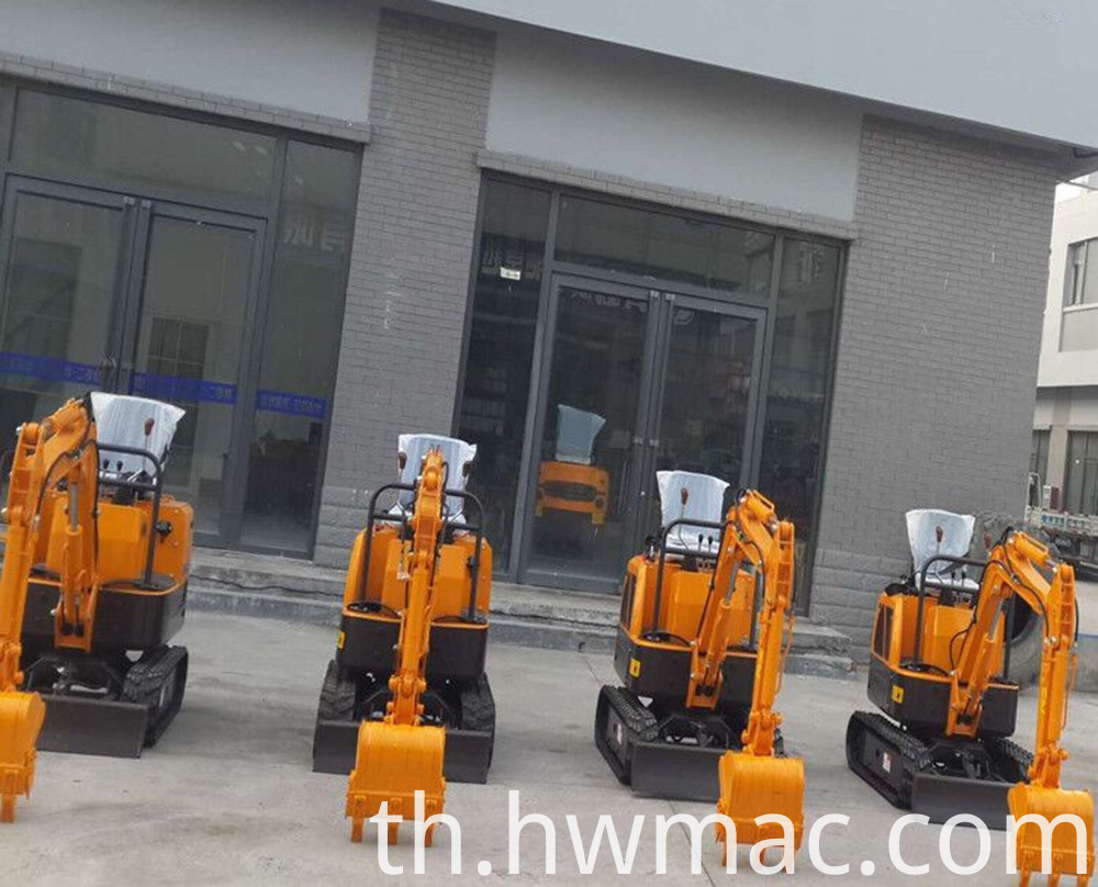 small excavator warehouse 4
