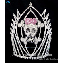 Цветная хрустальная черепа Хрустального черепа, страшная корона черепа для продажи