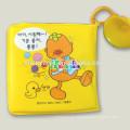 grabación personalizada bebé baño libro bebé almohada