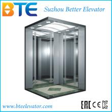 Eac alta calidad y buena decoración ascensor de pasajeros con sala de máquinas pequeñas