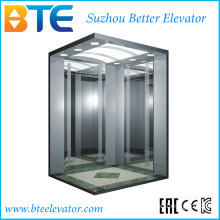 Eac High Quality and Good Decoration Passenger Lift with Small Machine Room