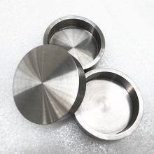Olla de tungsteno de crisol de tungsteno de pureza 99,95% para fundir