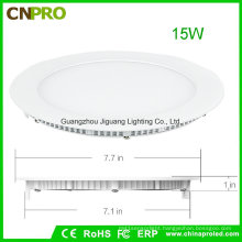 LED Recessed/Ceiling/Suspending Mounting Panel Light 15W with 2 Years Warranty