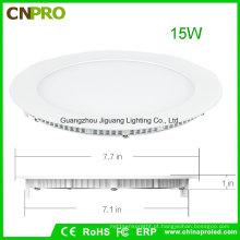 O diodo emissor de luz Recessed / Ceiling / suspendendo a luz de painel 15W da montagem com 2 anos de garantia