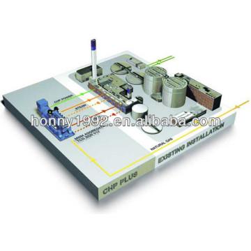 Gerador Combinado de Aquecimento e Energia de Resfriamento (CCHP)
