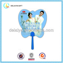 Equisite and attractive plastic hand fan