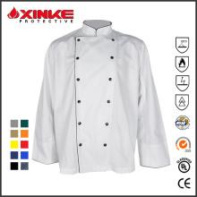 bar et restaurant uniforme de chef de coton