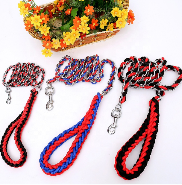 Paracord Long Dog Lead 4ft