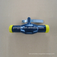 Carbon Steel Butt Welding Gas Ball Valve for Center Heating