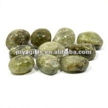 High Polished Gemstone pebble natural stone border