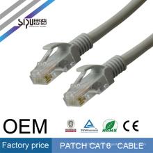 Cable de conexión de alta velocidad SIPU 1m utp 4pr 23awg Cable de conexión CCA cat6