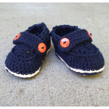 Handmade Cotton Boy shoes for baby