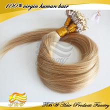 Frauen Haarverlängerungen Blonde Micro Ring Haar # 16 Gerade