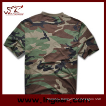 Military Tactical Fashion Camouflage Short Sleeve T-Shirt Cotton T-Shirt