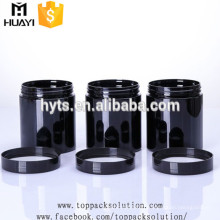 100ml 250ml black pet jar