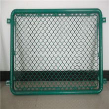 PVC Coted Chain Link Fence Rolls For Playground
