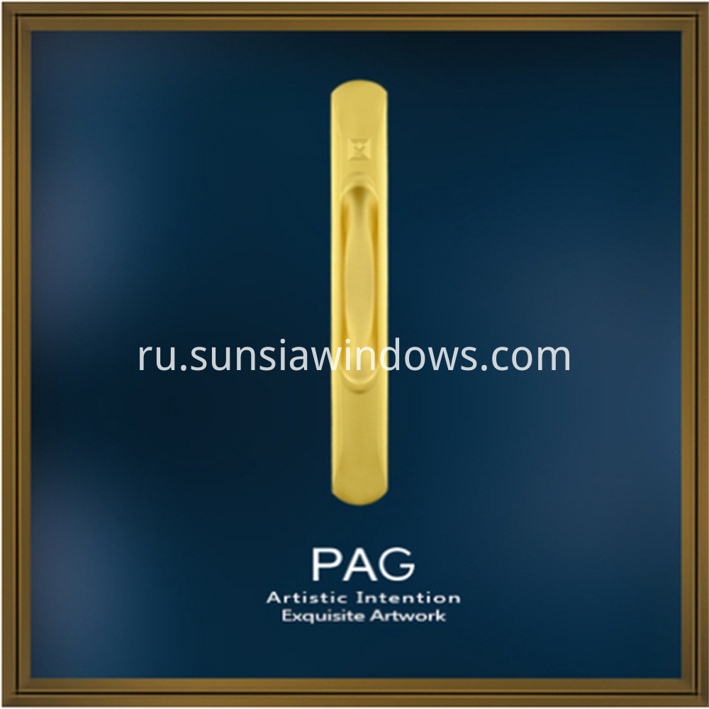 High Grade Zinc Alloy Door or Window Sliding Pull Handles